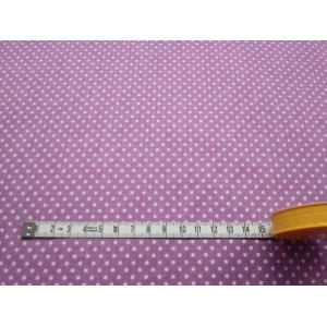 Bawełna - Fiolet groszki 2-3mm