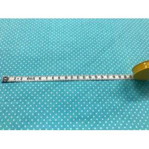 Bawełna - Mięta groszki 2-3mm