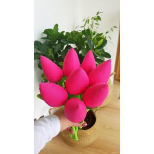 Tulipany amarantowe