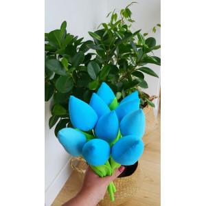 Tulipany turkusowe